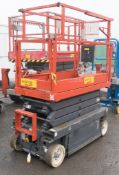 Sky Jack battery electric 8 metre sissor lift access platform Year: 2009 S/N: 22013331 Recorded