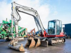 Takeuchi TB285 8.5 tonne rubber tracked excavator Year: 2013 S/N: 185000683 Recorded hours: 6397