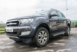 Ford Ranger Wildtrak 4 x 4 DCB TDCI automatic pick-up Registration number: LM18 LKE Date of