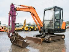 Doosan Solar 030 Plus 3 tonne rubber tracked mini excavator Year: 2006 S/N: 20444 Recorded Hours: