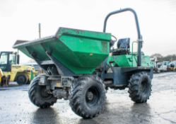 Benford Terex 3 tonne swivel skip dumper Year: 2008 S/N: E803FS142 Recorded Hours: 2029 A504517