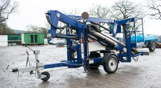Nifty 120 TE fast tow articulated boom lift access platform Year: 2008 S/N: 0418750 08BB008