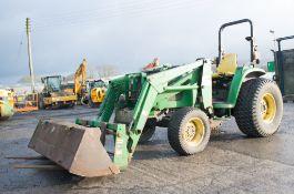 John Deere 460 diesel driven tractor Registration Number: PF04 SXK S/N:LV4710E279074 Date of
