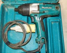 Makita 110v impact wrench c/w carry case