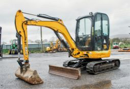 JCB 8030 ZTS 3 tonne rubber tracked mini excavator Year: 2013 S/N: 2021917 Recorded Hours: 2582