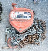 1 tonne chain block