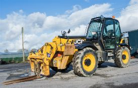JCB 535-125 Hi Viz 12.5 metre telescopic handler Year: 2015 S/N: 2352466 Reg No: MM65 ZZV Recorded