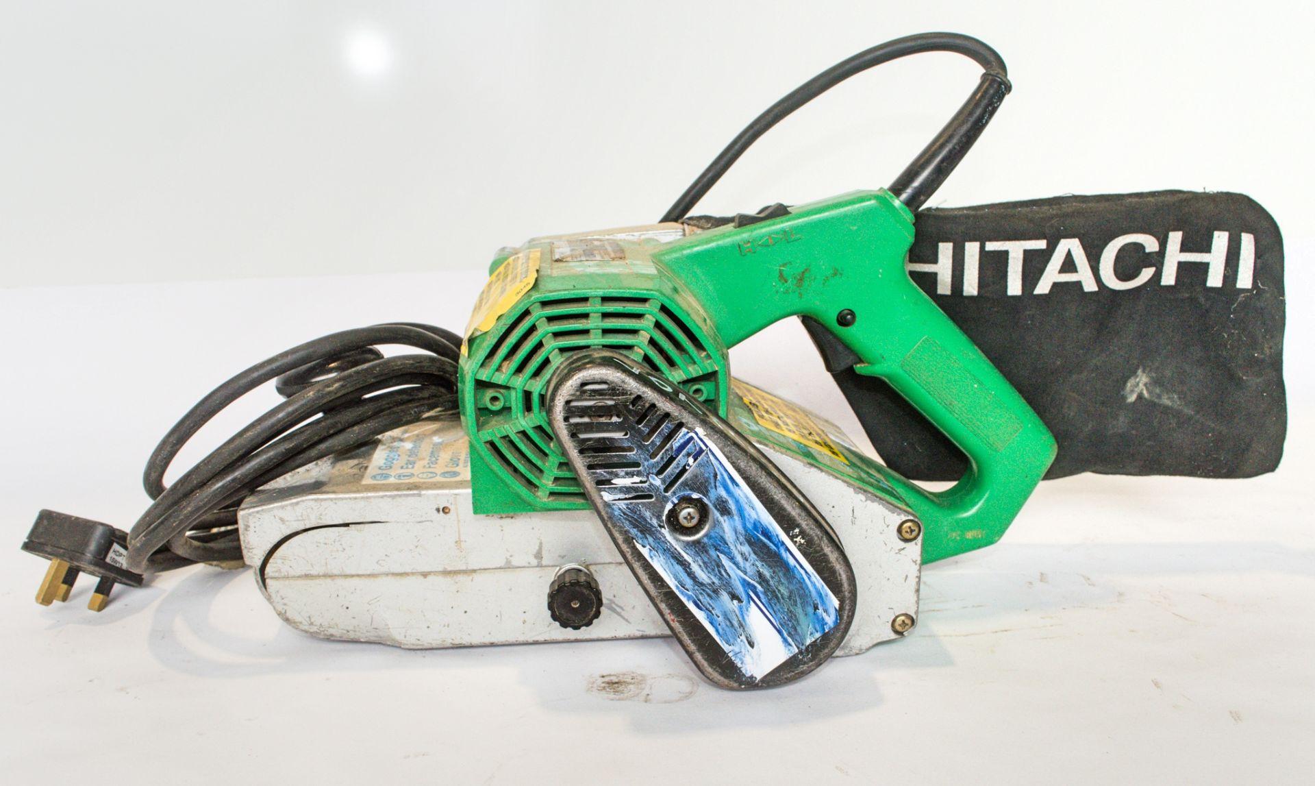 Lot 734 - Hitachi 110v belt sander