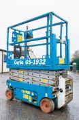 Genie GS1932 battery electric scissor lift access platform Recorded Hours: 268 08830053