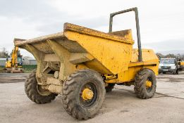Benford Terex 5 tonne straight skip dumper S/N: A446 Recorded Hours: Not displayed (Clock blank)