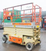 JLG 3246ES battery electric 12 metre driven scissor lift access platform Year: 2006 S/N:
