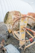 Winget 100T diesel driven site mixer 1089