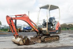 Kubota KX36-3 1.5 tonne rubber tracked mini excavator Year: 2007 S/N: Z0765727 Recorded Hours: