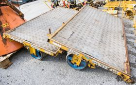 2 - single axle rail trolleys A580686
