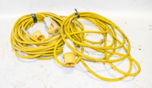2 - 110v extension cables