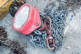 2 tonne chain block