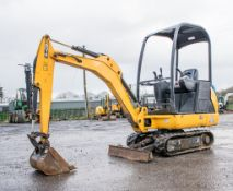 JCB 8014 1.5 tonne rubber tracked mini excavator Year: 2016 S/N: 75425 Recorded hours: 561 LH20007