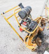 Geismar petrol engine rail grinder
