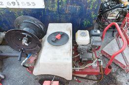 Petrol driven pressure washer ** No hose or lance **