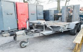 Ifor Williams GH94 9 ft x 4 ft tandem axle plant trailer 22130183