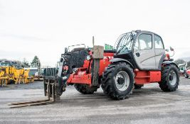 Manitou MT1840 18 metre telescopic handler Year: 2014 S/N: 942628 Recorded Hours: 4160 c/w sway