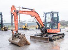 Kubota U48.4 4.8 tonne rubber tracked excavator Year: 2015 S/N: 52743 Recorded hours: 2171 c/w 3