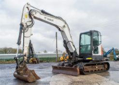 Bobcat E80 8 tonne rubber tracked excavator Year: 2013 S/N: 312768 Recorded Hours: 2778 blade,