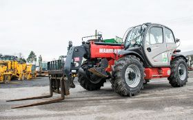 Manitou MT1335 13 metre telescopic handler Year: 2014 S/N: 941567 Recorded Hours: 1907 c/w sway