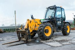 JCB 531-70 7 metre telescopic handler Year: 2014 S/N: 2341975 Reg No: Q120 OAL Recorded Hours: