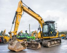 JCB JS130 LC 14 tonne steel tracked excavator Year: 2014 S/N: 2134023 Recorded Hours: 6798 auxiliary