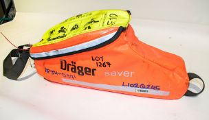 Drager emergency escape breathing device