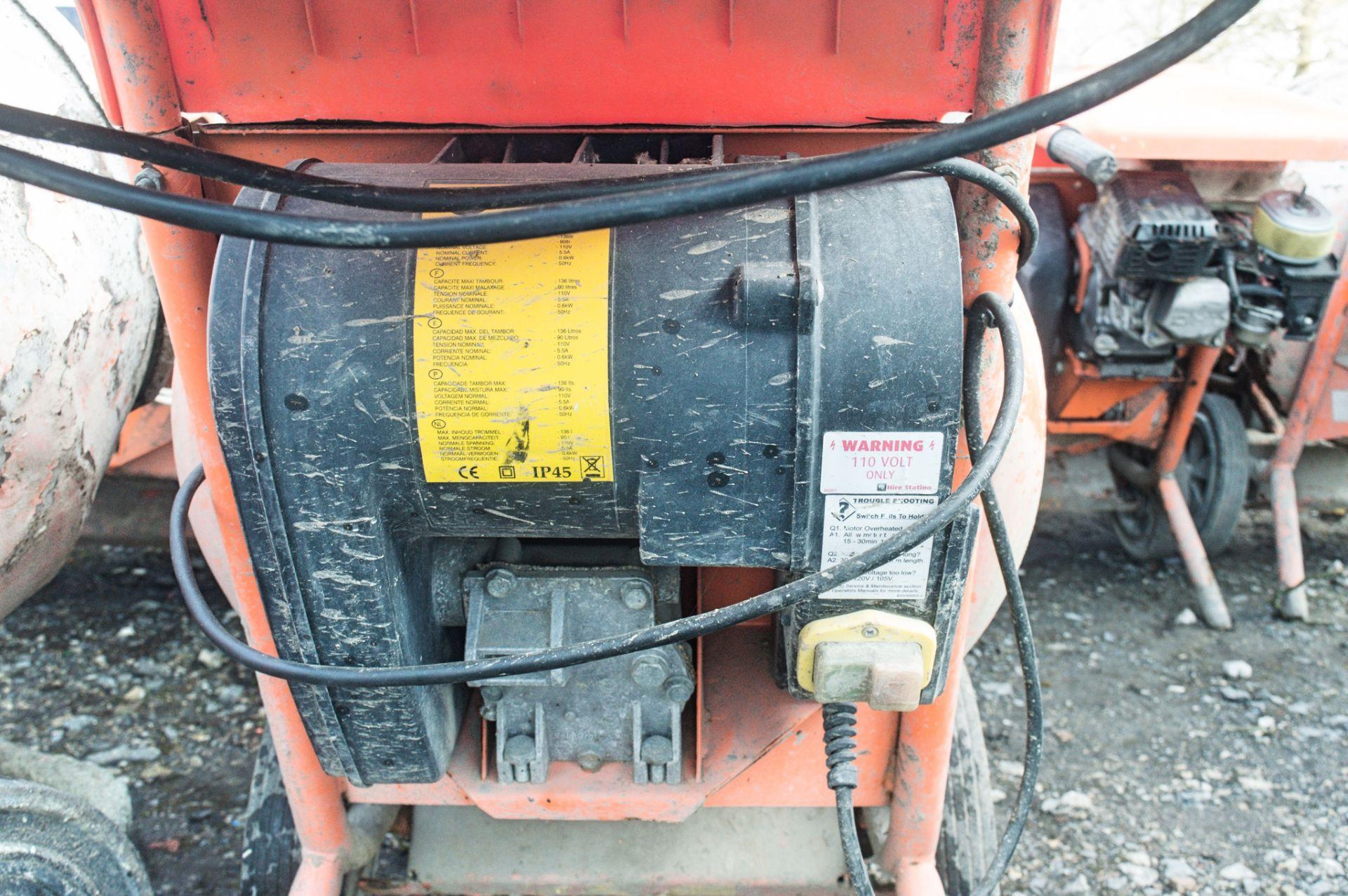 Lot 270 - Belle 150 Minimix 110v cement mixer