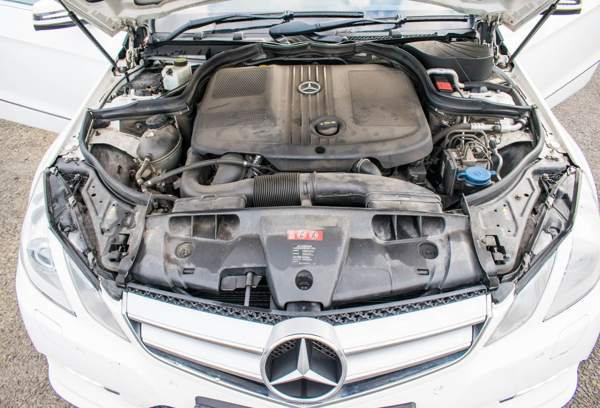 Lot 71 - Mercedes Benz E250 sport CDI diesel convertible car Registration number: WP12 OLO Date of