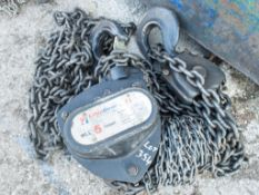5 tonne chain block