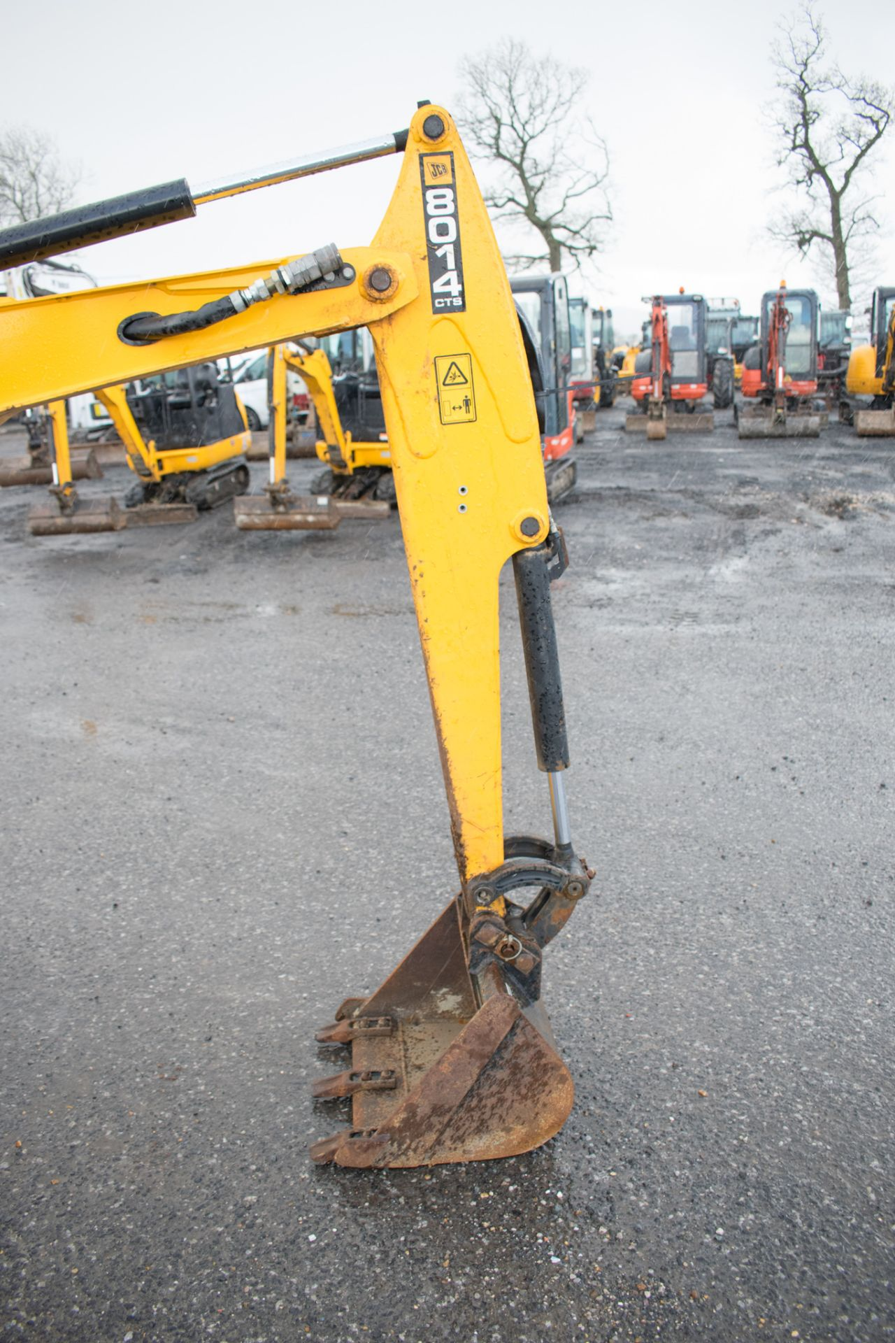 Lot 28 - JCB 8014 1.5 tonne rubber tracked mini excavator Year: 2016 S/N: 75425 Recorded hours: 561 LH20007
