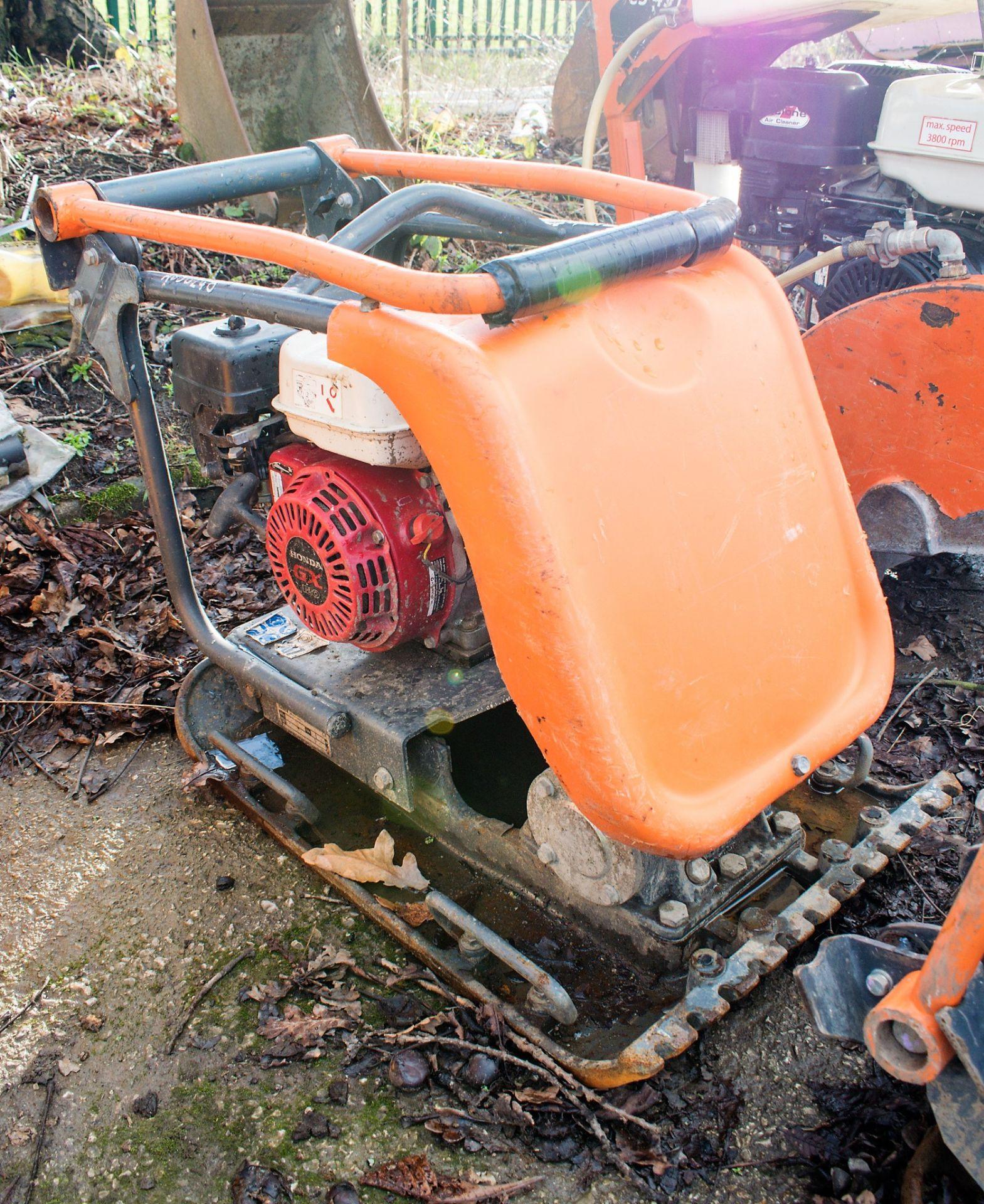 Lot 184 - Belle petrol driven compactor plate A650248