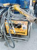 JCB Beaver petrol driven hydraulic power pack c/w anti vibe breaker