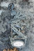 3 tonne chain block