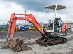 Kubota KX36-3 1.5 tonne rubber tracked mini excavator Year:  S/N: 7077625 Recorded Hours: 3396