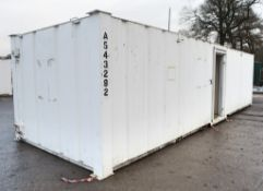32 ft x 10 ft steel toilet site unit Comprising of: Gents toilet with; 4 - toilets, 4 - urinals &