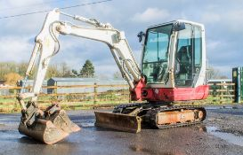 Takeuchi TB228 2.8 tonne rubber tracked excavator Year: 2014 S/N: 122803361 Recorded Hours: 3066
