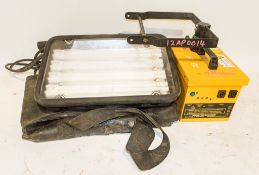 Cordless site light c/w carry case ** No charger **