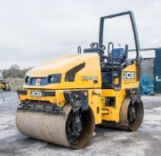 JCB VMT 260 double drum ride on roller  Year: 2012 S/N 2803332 Recorded hours: 927