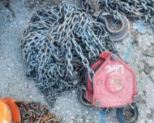 0.5 tonne chain block