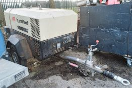 Ingersoll Rand 741 diesel driven mobile air compressor Year: 2008 Recorded Hours: 1616 S/N: 425606