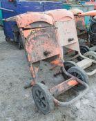 Belle Minimix petrol driven cement mixer ** No drum **
