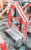 Fairport hydraulic block splitter