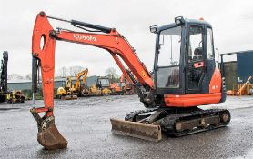 Kubota KX71-3 2.8 tonne rubber tracked mini excavator Year: 2013 S/N: 78542 Recorded Hours: 3068