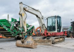 Takeuchi TB250 5 tonne rubber tracked excavator Year: 2014 S/N: 3660 Recorded Hours: 6247 blade,