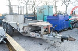 Ifor Williams GX84 8 ft x 4 ft tandem axle plant trailer 221301215